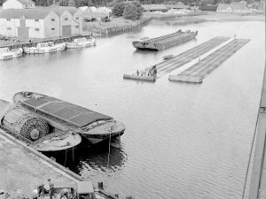 Mulberry Harbour trials in Garlieston Harbour